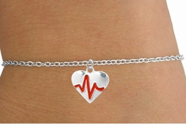 "<BR>                   CHILDREN'S 5 1/2"" ADJUSTABLE BRACELET ""THE PERFECT GIFT"",<BR>                                   ""Your Love Makes My Heart Beat"","" I Love You"", Or<BR>                                      In Recognition Of ""Children's Heart Disease""<BR>                           "" HEARTBEAT "" SMALL CHAIN ADJUSTABLE BRACELET<BR>                                     AN ORIGINAL ALLAN ROBIN CUSTOM DESIGN<br>                                                   WHOLESALE CHARM BRACELET <BR>                                                 LEAD, CADMIUM & NICKEL FREE!!  <BR>             W21601B-SMALL CHAIN, BRIGHT SILVER TONE ADJUSTABLE BRACELET <BR>              FITS 5 1/2"" TO 6 3/4"" WRIST SIZES FROM $5.60 TO $9.85 EACH! &#169;2015"