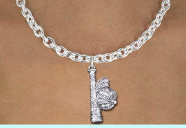<BR>       CRYSTAL BALL CAP & BAT NECKLACE! <bR>                   EXCLUSIVELY OURS!! <Br>              AN ALLAN ROBIN DESIGN!! <BR>     CLICK HERE TO SEE 1000+ EXCITING <BR>           CHANGES THAT YOU CAN MAKE! <BR>        LEAD, NICKEL & CADMIUM FREE!! <BR>      W1470SN - SILVER TONE AND CLEAR <BR> CRYSTAL BAT AND CAP CHARM AND NECKLACE <BR>            FROM $5.40 TO $9.85 �2013