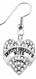 "<BR>       ""DEPUTY SHERIFF'S WIFE""  EXCLUSIVELY OURS!!   <Br>                              AN ALLAN ROBIN DESIGN!!   <BR>                       NICKEL, LEAD & CADMIUM FREE!!   <BR>                W1710E1- FROM $5.98 TO $12.85 �2015"