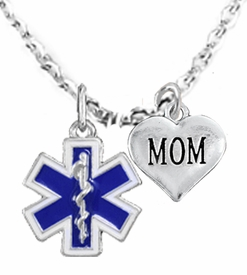 <BR>            EMT, I LOVE YOU MOM CHARM NECKLACE<BR>                             AN ALLAN ROBIN DESIGN!! <Br>                         CADMIUM, LEAD & NICKEL FREE!!  <Br>             W1496-1837N1 ON A CABLE CHAIN NECKLACE <BR>                              FROM $7.50 TO $9.50 �2016