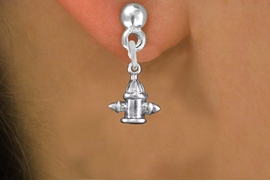 <bR>                 EXCLUSIVELY OURS!!<BR>           AN ALLAN ROBIN DESIGN!! <BR> CADMIUM, LEAD & NICKEL FREE!! <BR>W1349SE - ANTIQUED SILVER TONE <BR>FIRE HYDRANT CHARM EARRINGS <BR>     FROM $4.50 TO $8.35 �2012