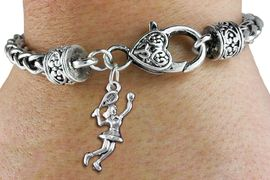 <bR>                  EXCLUSIVELY OURS!!<BR>            AN ALLAN ROBIN DESIGN!! <BR>  CADMIUM, LEAD & NICKEL FREE!! <BR> W1389SB - TENNIS PLAYER CHARM <BR>  & HEART LOBSTER CLASP BRACELET <BR>          FROM $3.94 TO $8.75 �2013
