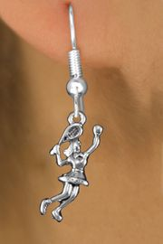 <bR>                  EXCLUSIVELY OURS!!<BR>            AN ALLAN ROBIN DESIGN!! <BR>  CADMIUM, LEAD & NICKEL FREE!! <BR> W1389SE - DETAILED SILVER TONE <BR>   TENNIS PLAYER CHARM EARRINGS <BR>      FROM $4.50 TO $8.35 �2013