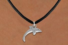 <bR>                EXCLUSIVELY OURS!!<BR>          AN ALLAN ROBIN DESIGN!!<BR> CLICK HERE TO SEE 1000+ EXCITING<BR>    CHANGES THAT YOU CAN MAKE!<BR> ABSOLUTELY LEAD & NICKEL FREE!! <BR>  W852SN - DETAILED SILVER TONE <BR>SWIMMING DOLPHIN CHARM & NECKLACE <BR>     FROM $4.50 TO $8.35 �2012