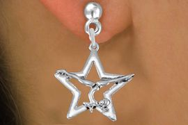 <bR>               EXCLUSIVELY OURS!!<BR>         AN ALLAN ROBIN DESIGN!!<BR>CLICK HERE TO SEE 1000+ EXCITING<BR>   CHANGES THAT YOU CAN MAKE!<BR>      CADMIUM,  LEAD & NICKEL FREE!! <BR>W1308SE -  SILVER TONE GYMNAST <BR>POSED IN STAR CHARM EARRINGS  <BR>      FROM $4.50 TO $8.35 �2012