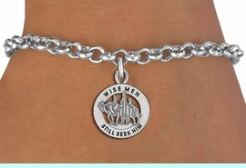 """<bR>                 EXCLUSIVELY OURS!!<BR>           AN ALLAN ROBIN DESIGN!!<BR>  CLICK HERE TO SEE 1000+ EXCITING<BR>     CHANGES THAT YOU CAN MAKE!<BR> CADMIUM, LEAD & NICKEL FREE!! <BR>W1315SB - ROUND SILVER TONE <BR>   """"WISE MEN"""" CHRISTMAS CHARM & <BR>BRACELET FROM $4.15 TO $8.00 �2012"""