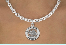 """<bR>                 EXCLUSIVELY OURS!!<BR>           AN ALLAN ROBIN DESIGN!!<BR>  CLICK HERE TO SEE 1000+ EXCITING<BR>     CHANGES THAT YOU CAN MAKE!<BR> CADMIUM, LEAD & NICKEL FREE!! <BR>W1315SN - ROUND SILVER TONE <BR>   """"WISE MEN"""" CHRISTMAS CHARM <BR>& NECKLACE FROM $4.50 TO $8.35 �2012"""