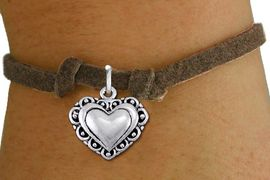 <bR>                 EXCLUSIVELY OURS!!<BR>           AN ALLAN ROBIN DESIGN!!<BR>  CLICK HERE TO SEE 1000+ EXCITING<BR>     CHANGES THAT YOU CAN MAKE!<BR> CADMIUM, LEAD & NICKEL FREE!! <BR>W1321SB - ANTIQUED SILVER TONE <BR> SCRIPT HEART CHARM & CHILDS <BR>BRACELET FROM $4.15 TO $8.00 �2012