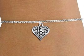 <bR>                 EXCLUSIVELY OURS!!<BR>           AN ALLAN ROBIN DESIGN!!<BR>  CLICK HERE TO SEE 1000+ EXCITING<BR>     CHANGES THAT YOU CAN MAKE!<BR> CADMIUM, LEAD & NICKEL FREE!! <BR>W1322SB - ANTIQUED SILVER TONE <BR>SCRIPT HEART CHARM & CHILDS <BR>BRACELET FROM $4.15 TO $8.00 �2012