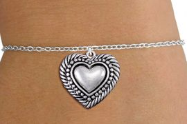 <bR>                 EXCLUSIVELY OURS!!<BR>           AN ALLAN ROBIN DESIGN!!<BR>  CLICK HERE TO SEE 1000+ EXCITING<BR>     CHANGES THAT YOU CAN MAKE!<BR> CADMIUM, LEAD & NICKEL FREE!! <BR>W1326SB - ANTIQUED SILVER TONE <BR>SCRIPT HEART & CHILD'S BRACELET <BR>        FROM $4.15 TO $8.00 �2012
