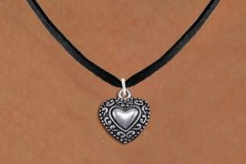 <bR>                EXCLUSIVELY OURS!!<BR>          AN ALLAN ROBIN DESIGN!!<BR> CLICK HERE TO SEE 1000+ EXCITING<BR>    CHANGES THAT YOU CAN MAKE!<BR>CADMIUM, LEAD & NICKEL FREE!! <BR> W1327SN - ANTIQUED SILVER TONE <BR>SCRIPT HEART CHARM & NECKLACE <BR>     FROM $4.50 TO $8.35 �2012