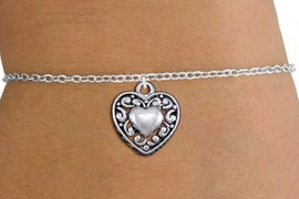<bR>                 EXCLUSIVELY OURS!!<BR>           AN ALLAN ROBIN DESIGN!!<BR>  CLICK HERE TO SEE 1000+ EXCITING<BR>     CHANGES THAT YOU CAN MAKE!<BR> CADMIUM, LEAD & NICKEL FREE!! <BR>W1328SB - ANTIQUED SILVER TONE <BR>SCRIPT HEART & CHILD'S BRACELET <BR>        FROM $4.15 TO $8.00 �2012