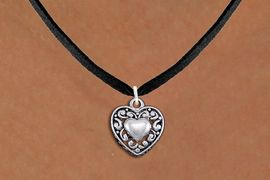 <bR>                EXCLUSIVELY OURS!!<BR>          AN ALLAN ROBIN DESIGN!!<BR> CLICK HERE TO SEE 1000+ EXCITING<BR>    CHANGES THAT YOU CAN MAKE!<BR>CADMIUM, LEAD & NICKEL FREE!! <BR> W1328SN - ANTIQUED SILVER TONE <BR>SCRIPT HEART CHARM & NECKLACE <BR>     FROM $4.50 TO $8.35 �2012