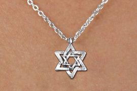 <bR>                EXCLUSIVELY OURS!!<BR>          AN ALLAN ROBIN DESIGN!!<BR> CLICK HERE TO SEE 1000+ EXCITING<BR>    CHANGES THAT YOU CAN MAKE!<BR>CADMIUM, LEAD & NICKEL FREE!! <BR>W1332SN - SILVER TONE DOUBLE <BR>STAR OF DAVID & CHILDS NECKLACE <BR>     FROM $4.50 TO $8.35 �2012