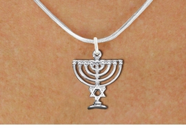 <bR>                EXCLUSIVELY OURS!!<BR>          AN ALLAN ROBIN DESIGN!!<BR> CLICK HERE TO SEE 1000+ EXCITING<BR>    CHANGES THAT YOU CAN MAKE!<BR>CADMIUM, LEAD & NICKEL FREE!! <BR>W1333SN - DETAILED SILVER TONE <BR>  MENORAH CHARM & NECKLACE <BR>     FROM $4.50 TO $8.35 �2012
