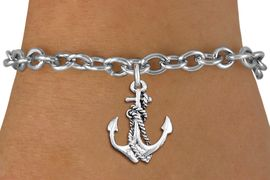 <bR>                 EXCLUSIVELY OURS!!<BR>           AN ALLAN ROBIN DESIGN!!<BR>  CLICK HERE TO SEE 1000+ EXCITING<BR>     CHANGES THAT YOU CAN MAKE!<BR> CADMIUM, LEAD & NICKEL FREE!! <BR>W1337SB - ANTIQUED SILVER TONE <BR> BOAT ANCHOR CHARM & BRACELET <BR>        FROM $4.15 TO $8.00 �2012