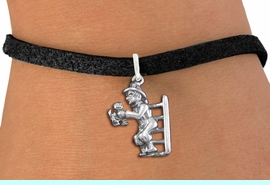 <bR>                 EXCLUSIVELY OURS!!<BR>           AN ALLAN ROBIN DESIGN!!<BR>  CLICK HERE TO SEE 1000+ EXCITING<BR>     CHANGES THAT YOU CAN MAKE!<BR> CADMIUM, LEAD & NICKEL FREE!! <BR>W1348SB - ANTIQUED SILVER TONE <BR>FIREMAN ON LADDER CHARM & BRACELET <BR>        FROM $4.15 TO $8.00 �2012