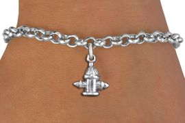 <bR>                 EXCLUSIVELY OURS!!<BR>           AN ALLAN ROBIN DESIGN!!<BR>  CLICK HERE TO SEE 1000+ EXCITING<BR>     CHANGES THAT YOU CAN MAKE!<BR> CADMIUM, LEAD & NICKEL FREE!! <BR>W1349SB - ANTIQUED SILVER TONE <BR>FIRE HYDRANT CHARM & BRACELET <BR>        FROM $4.15 TO $8.00 �2012