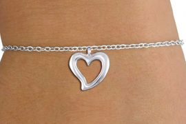 <bR>                 EXCLUSIVELY OURS!!<BR>           AN ALLAN ROBIN DESIGN!!<BR>  CLICK HERE TO SEE 1000+ EXCITING<BR>     CHANGES THAT YOU CAN MAKE!<BR> CADMIUM, LEAD & NICKEL FREE!! <BR >W1374SB - LARGE SILVER TONE <BR> OPEN HEART &CHILD'S BRACELET <BR>        FROM $4.15 TO $8.00 �2012
