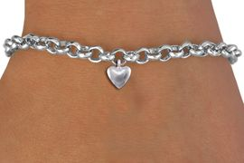 <bR>                 EXCLUSIVELY OURS!!<BR>           AN ALLAN ROBIN DESIGN!!<BR>  CLICK HERE TO SEE 1000+ EXCITING<BR>     CHANGES THAT YOU CAN MAKE!<BR> CADMIUM, LEAD & NICKEL FREE!! <BR >W1376SB - TINY SILVER TONE <BR>3D PUFFED HEART CHARM & BRACELET <BR>        FROM $4.15 TO $8.00 �2012