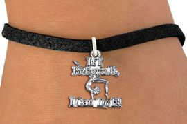 """<bR>                  EXCLUSIVELY OURS!!<BR>             AN ALLAN ROBIN DESIGN!!<BR>    CLICK HERE TO SEE 1000+ EXCITING<BR>          CHANGES THAT YOU CAN MAKE!<BR>       CADMIUM, LEAD & NICKEL FREE!!<BR>  W1407SB - """"IF I BELIEVE IT, I CAN <Br> DO IT"""" GYMNASTICS CHARM & BRACELET <BR>           FROM $4.15 TO $8.00 �2013"""