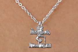 "<bR>CHILDREN'S ADJUSTABLE GYMNASTIC NECKLACE                <BR>              <BR>      CADMIUM, LEAD & NICKEL FREE!! <BR>  W1407N5 - ""IF I BELIEVE IT, I CAN DO IT!"" <Br>       GYMNASTICS CHARM & NECKLACE <BR>             $8.38 �2013"
