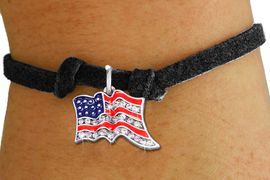 <bR>               EXCLUSIVELY OURS!!<Br>         AN ALLAN ROBIN DESIGN!! <BR>CLICK HERE TO SEE 1000+ EXCITING <BR>   CHANGES THAT YOU CAN MAKE!<BR>   LEAD, NICKEL & CADMIUM FREE!! <BR> W1317SB - PATRIOTIC USA FLAG <BR>CRYSTAL CHARM & CHILDS BRACELET <BR>     FROM $5.40 TO $9.85 �2012