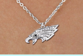 <bR>                  EXCLUSIVELY OURS!!<Br>            AN ALLAN ROBIN DESIGN!!<BR>   CLICK HERE TO SEE 1000+ EXCITING<BR>      CHANGES THAT YOU CAN MAKE!<BR>     LEAD, NICKEL & CADMIUM FREE!!<BR> W1318SN - BEAUTIFUL EAGLE HEAD <BR>CRYSTAL CHARM AND CHILD'S NECKLACE <BR>         FROM $5.40 TO $9.85 �2012