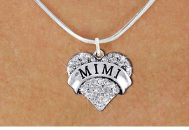 "<bR>                  EXCLUSIVELY OURS!!<Br>            AN ALLAN ROBIN DESIGN!!<BR>   CLICK HERE TO SEE 1000+ EXCITING<BR>      CHANGES THAT YOU CAN MAKE!<BR>     LEAD, NICKEL & CADMIUM FREE!!<BR>W1344SN - AUSTRIAN CRYSTAL ""MIMI"" <BR>          HEART CHARM & NECKLACE <BR>         FROM $5.40 TO $9.85 �2012"