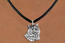 <bR>                  EXCLUSIVELY OURS!!<Br>            AN ALLAN ROBIN DESIGN!!<BR>   CLICK HERE TO SEE 1000+ EXCITING<BR>      CHANGES THAT YOU CAN MAKE!<BR>     LEAD, NICKEL & CADMIUM FREE!!<BR>W1352SN - DETAILED BOBCAT WITH <BR> CLEAR CRYSTALS CHARM NECKLACE <BR>         FROM $5.40 TO $9.85 �2012