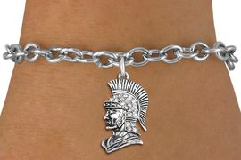 <bR>               EXCLUSIVELY OURS!!<Br>         AN ALLAN ROBIN DESIGN!! <BR>CLICK HERE TO SEE 1000+ EXCITING <BR>   CHANGES THAT YOU CAN MAKE!<BR>   LEAD, NICKEL & CADMIUM FREE!! <BR> W1355SB - DETAILED TROJAN WITH <BR> CLEAR CRYSTALS CHARM & BRACELET <BR>     FROM $5.40 TO $9.85 �2012