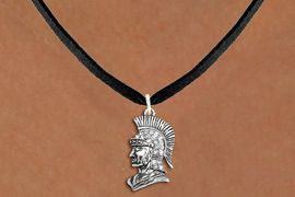 <bR>                  EXCLUSIVELY OURS!!<Br>            AN ALLAN ROBIN DESIGN!!<BR>   CLICK HERE TO SEE 1000+ EXCITING<BR>      CHANGES THAT YOU CAN MAKE!<BR>     LEAD, NICKEL & CADMIUM FREE!!<BR>W1355SN - DETAILED TROJAN WITH <BR> CLEAR CRYSTALS CHARM NECKLACE <BR>         FROM $5.40 TO $9.85 �2012