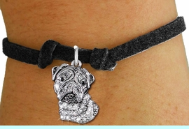 <bR>               EXCLUSIVELY OURS!!<Br>         AN ALLAN ROBIN DESIGN!! <BR>CLICK HERE TO SEE 1000+ EXCITING <BR>   CHANGES THAT YOU CAN MAKE!<BR>   LEAD, NICKEL & CADMIUM FREE!! <BR> W1356SB - DETAILED BULLDOG HEAD <BR> WITH CRYSTALS & CHILDS BRACELET <BR>     FROM $5.40 TO $9.85 �2012