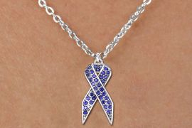 <bR>                  EXCLUSIVELY OURS!! <Br>             AN ALLAN ROBIN DESIGN!! <BR>    CLICK HERE TO SEE 1000+ EXCITING <BR>       CHANGES THAT YOU CAN MAKE! <BR>      LEAD, NICKEL & CADMIUM FREE!! <BR> W1382SN - PURPLE AWARENESS <BR> CRYSTAL RIBBON AND CHILD'S NECKLACE <BR>          FROM $5.40 TO $9.85 �2012