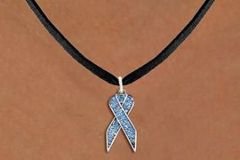 <bR>                  EXCLUSIVELY OURS!! <Br>             AN ALLAN ROBIN DESIGN!! <BR>    CLICK HERE TO SEE 1000+ EXCITING <BR>       CHANGES THAT YOU CAN MAKE! <BR>      LEAD, NICKEL & CADMIUM FREE!! <BR> W1383SN - TURQUOISE AWARENESS <BR> CRYSTAL RIBBON CHARM AND NECKLACE <BR>          FROM $5.40 TO $9.85 �2012