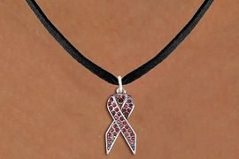 <bR>                  EXCLUSIVELY OURS!! <Br>              AN ALLAN ROBIN DESIGN!! <BR>     CLICK HERE TO SEE 1000+ EXCITING <BR>        CHANGES THAT YOU CAN MAKE! <BR>       LEAD, NICKEL & CADMIUM FREE!! <BR> W1384SN - RED AWARENESS CRYSTAL <BR>     RIBBON CHARM AND NECKLACE <BR>           FROM $5.40 TO $9.85 �2013