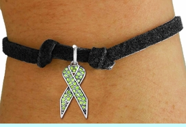 <bR>               EXCLUSIVELY OURS!! <Br>           AN ALLAN ROBIN DESIGN!! <BR>  CLICK HERE TO SEE 1000+ EXCITING <BR>     CHANGES THAT YOU CAN MAKE!<BR>     LEAD, NICKEL & CADMIUM FREE!! <BR>W1388SB - LIME GREEN AWARENESS <BR>  CRYSTAL RIBBON CHARM & BRACELET <BR>       FROM $5.15 TO $9.00 �2013