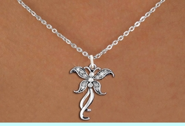<bR>                   EXCLUSIVELY OURS!! <Br>               AN ALLAN ROBIN DESIGN!! <BR>      CLICK HERE TO SEE 1000+ EXCITING <BR>         CHANGES THAT YOU CAN MAKE! <BR>        LEAD, NICKEL & CADMIUM FREE!! <BR>  W1392SN - SILVER TONE AND CRYSTAL <BR>    BUTTERFLY CHARM AND NECKLACE <BR>            FROM $5.40 TO $9.85 �2013