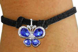 <bR>                 EXCLUSIVELY OURS!! <Br>             AN ALLAN ROBIN DESIGN!! <BR>    CLICK HERE TO SEE 1000+ EXCITING <BR>       CHANGES THAT YOU CAN MAKE!<BR>       LEAD, NICKEL & CADMIUM FREE!! <BR>    W1395SB - SILVER TONE AND BLUE <BR> CRYSTAL BUTTERFLY CHARM & BRACELET <BR>         FROM $5.40 TO $9.85 �2013