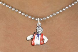<bR>               EXCLUSIVELY OURS!!<BR>         AN ALLAN ROBIN DESIGN!!<BR>CLICK HERE TO SEE 1000+ EXCITING<BR>   CHANGES THAT YOU CAN MAKE!<BR>                LEAD & NICKEL FREE!! <BR>W1299SN -  SILVER TONE HAND PAINTED <Br>SQUARE DANCE CALLER CHARM  & NECKLACE <BR>      FROM $4.50 TO $8.35 �2012