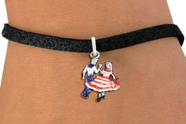 <bR>                     EXCLUSIVELY OURS!!<BR>               AN ALLAN ROBIN DESIGN!!<BR>      CLICK HERE TO SEE 1000+ EXCITING<BR>         CHANGES THAT YOU CAN MAKE!<BR>                  LEAD & NICKEL FREE!! <BR>W1300SB - SILVER TONE HAND PAINTED <BR>SQUARE DANCE DANCERS CHARM BRACELET <BR>           FROM $4.15 TO $8.00 �2012