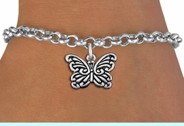 <bR>                       EXCLUSIVELY OURS!!<BR>                 AN ALLAN ROBIN DESIGN!!<BR>       CLICK HERE TO SEE 1000+ EXCITING<BR>           CHANGES THAT YOU CAN MAKE!<BR>                      LEAD & NICKEL FREE!!<BR>      W1391SB - BUTTERFLY CHARM<Br>  & BRACELET FROM $4.15 TO $8.00 &#169;2013