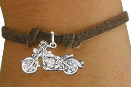 <bR>                   EXCLUSIVELY OURS!!<Br>             AN ALLAN ROBIN DESIGN!!<BR>    CLICK HERE TO SEE 120+ EXCITING<BR>       CHANGES THAT YOU CAN MAKE!<BR>        LEAD, NICKEL & CADMIUM FREE!!<BR>W1188SB - CRYSTAL MOTORCYCLE CHARM <Br>  & CHILDRENS BRACELET FROM $5.40 TO $9.85 �2012