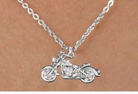 <bR>                      EXCLUSIVELY OURS!!<Br>                AN ALLAN ROBIN DESIGN!!<BR>       CLICK HERE TO SEE 120+ EXCITING<BR>          CHANGES THAT YOU CAN MAKE!<BR>          LEAD, NICKEL & CADMIUM FREE!!<BR>W1188SN - CRYSTAL MOTORCYCLE CHARM<BR> & CHILDRENS NECKLACE FROM $5.40 TO $9.85 �2012