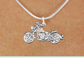 <bR>                      EXCLUSIVELY OURS!!<Br>                AN ALLAN ROBIN DESIGN!!<BR>       CLICK HERE TO SEE 120+ EXCITING<BR>          CHANGES THAT YOU CAN MAKE!<BR>          LEAD, NICKEL & CADMIUM FREE!!<BR>W1188SN - CRYSTAL MOTORCYCLE CHARM<BR> & NECKLACE FROM $5.40 TO $9.85 �2012