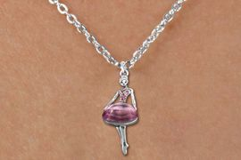 <bR>                  EXCLUSIVELY OURS!!<Br>            AN ALLAN ROBIN DESIGN!!<BR>   CLICK HERE TO SEE 120+ EXCITING<BR>      CHANGES THAT YOU CAN MAKE!<BR>     LEAD, NICKEL & CADMIUM FREE!!<BR>W1269SN - BEAUTIFUL BALLERINA ROSE <BR>CRYSTAL CHARM AND CHILDS NECKLACE <BR>         FROM $5.40 TO $9.85 �2012