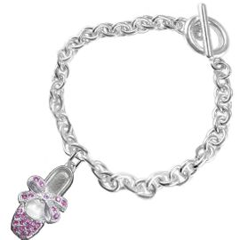 <bR>               EXCLUSIVELY OURS!!<Br>         AN ALLAN ROBIN DESIGN!! <BR>CLICK HERE TO SEE 120+ EXCITING <BR>   CHANGES THAT YOU CAN MAKE!<BR>   LEAD, NICKEL & CADMIUM FREE!! <BR>     W1270SB - BALLERINA SHOE <BR>     CRYSTAL CHARM & BRACELET <BR>     FROM $5.40 TO $9.85 �2012