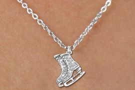 <bR>                  EXCLUSIVELY OURS!!<Br>            AN ALLAN ROBIN DESIGN!!<BR>   CLICK HERE TO SEE 120+ EXCITING<BR>      CHANGES THAT YOU CAN MAKE!<BR>     LEAD, NICKEL & CADMIUM FREE!!<BR>     W1271SN - DETAILED ICE SKATES <BR>CRYSTAL CHARM AND CHILDS NECKLACE <BR>         FROM $5.40 TO $9.85 �2012