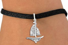 <bR>               EXCLUSIVELY OURS!!<Br>         AN ALLAN ROBIN DESIGN!! <BR>CLICK HERE TO SEE 120+ EXCITING <BR>   CHANGES THAT YOU CAN MAKE!<BR>   LEAD, NICKEL & CADMIUM FREE!! <BR>    W1274SB - DETAILED SAILBOAT<BR>     CRYSTAL CHARM & BRACELET <BR>     FROM $5.40 TO $9.85 �2012