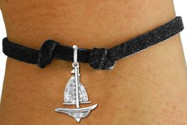 <bR>               EXCLUSIVELY OURS!!<Br>         AN ALLAN ROBIN DESIGN!! <BR>CLICK HERE TO SEE 120+ EXCITING <BR>   CHANGES THAT YOU CAN MAKE!<BR>   LEAD, NICKEL & CADMIUM FREE!! <BR>    W1274SB - DETAILED SAILBOAT<BR> CRYSTAL CHARM & CHILDS BRACELET <BR>     FROM $5.40 TO $9.85 �2012
